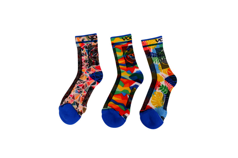 Women 360 Digital sports printed Socks
