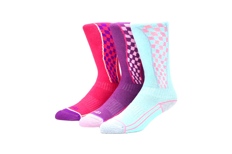Anti-foul knitted ski socks